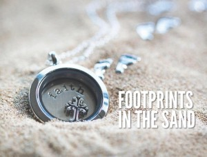 Locket - Footprints