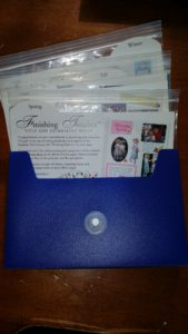 Creative Memories Finishing Touches - Title & Journaling Boxes